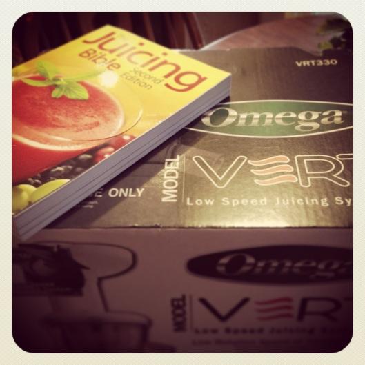 The Omega Vert 330 Juicer! (Yes, I am blogging Instagrams. #noshame)