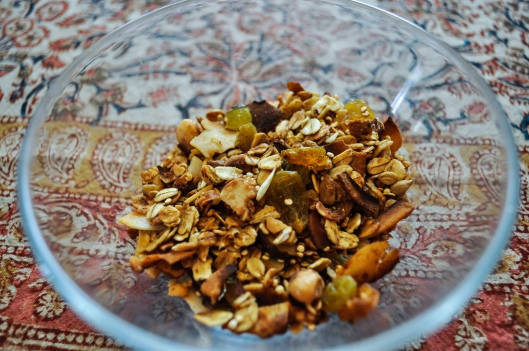 granola finished